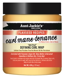 AUNT JACKIES FLAX CURL MANE DEFINING WHIP