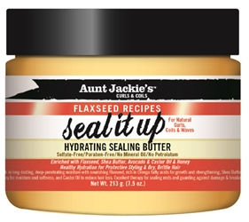 AUNT JACKIES  FLAX SEAL IT UP BUTTER
