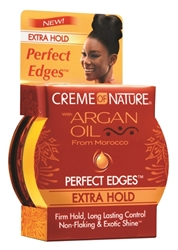 CREME OF NATURE ARGAN PERFECT EDGE XTRA HOLD