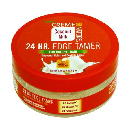 Creme of Nature Coconut Milk 24 HR Edge Tamer