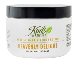 KOILS BY NATURE  HAIR & BODY BUTTER HEAVENLY DELI