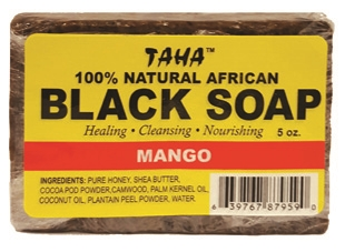 TAHA BLACK SOAP [MANGO]