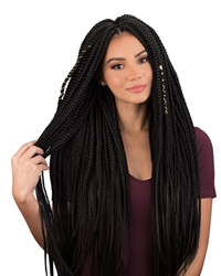 URBAN BEAUTY 2x OPEN-END BOX BRAID 30""
