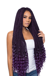 URBAN BEAUTY 2x REAL BOX BRAID CURL 30""