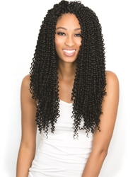 URBAN BEAUTY NATURALL CROCHET LOOP BOHEMIAN CURL BRAID