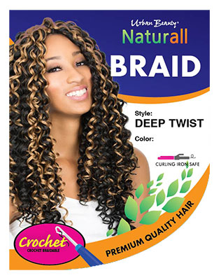 URBAN BEAUTY NATURALL CROCHET LOOP DEEP TWIST BRAID