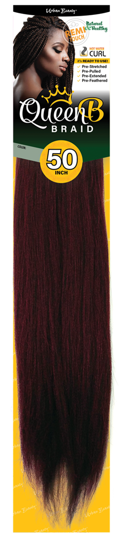 URBAN BEAUTY PRE-PULLED QUEEN B BRAIDING HAIR 50""