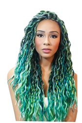 Urban Beautys Crochet Loop Goddess Wave Locs - 18""