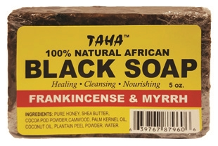 TAHA BLACK SOAP FRANKINCENSE & MYRRH