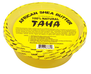 TAHA 100% NATURAL SOLID SHEA BUTTER